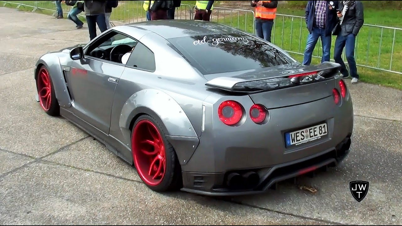 2017 nissan r35 skyline wallpaper