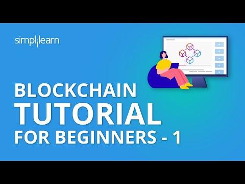 Blockchain Tutorial For Beginners - 1 | Blockchain Technology | Blockchain Tutorial | Simplilearn