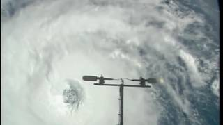 Hurricane Nicole From Space : Video From NASA ISS - International Space Station