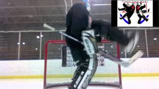 Goalie Drills Front Core Kicks