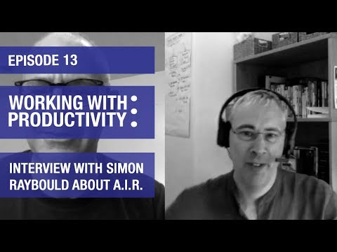 Working with Productivity   Ep 13   Interview With Simon Raybould