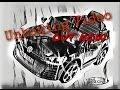 Kinderfahrzeug Ride on Unboxing 12V Kinder Elektro Auto VW Golf GTI schwarz/weiß RC Steuerung