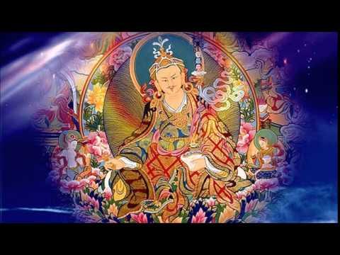 蓮花生大士心咒(藏音)Vajra Guru Mantra - YouTube