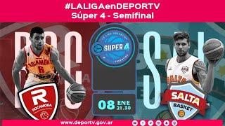 LAL GAenDEPORTV   EN V VO   Súper 4   Semifinal 2 Rocamora Vs. Salta Basket
