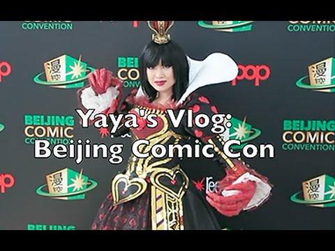 Yaya Han Vlog: Beijing Comic Con
