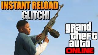 "GTA 5 Online - Instant Reload Glitch Online! Secret Reload Weapons Trick! ""GTA 5 Tricks"""