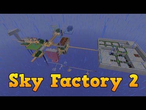 SkyFactory 2 - Stream Server Fremvisning !