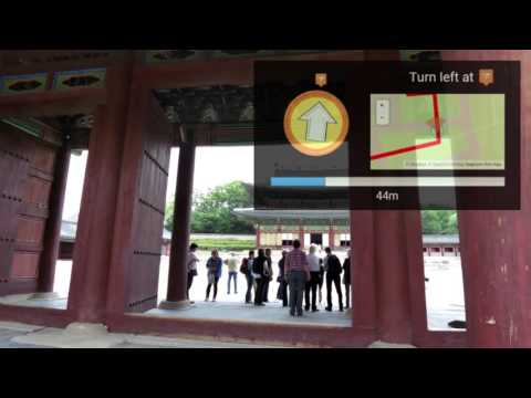 Changdeokgung Palace Tour using Wearable Device Tour Guide