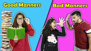 Good Manners Vs Bad Manners | Funny Video | Pari's Lifestyle