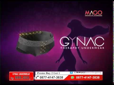 GYNAC Mago celana dalam kesehatan wanita - YouTube fe41cc6dfa
