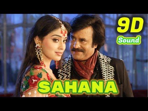 Sahana | Sivaji The Boss | 9D Audio Songs HD Quality | Use Headphones