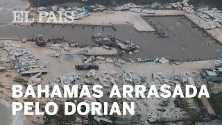 Bahamas arrasada pelo Dorian
