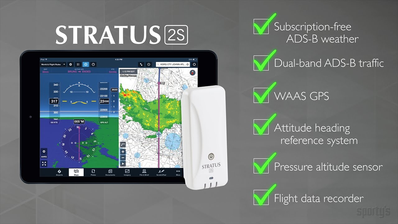 4edc1ad7d4f The next generation of Stratus  Stratus 1S and 2S ADS-B receivers for iPad