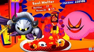 Kirby Star Allies - True Arena with Meta Knight (Solo / Soul Melter Difficulty)