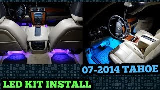 INSTALLING FULL LED INTERIOR KIT ON MY 08 CHEVY TAHOE