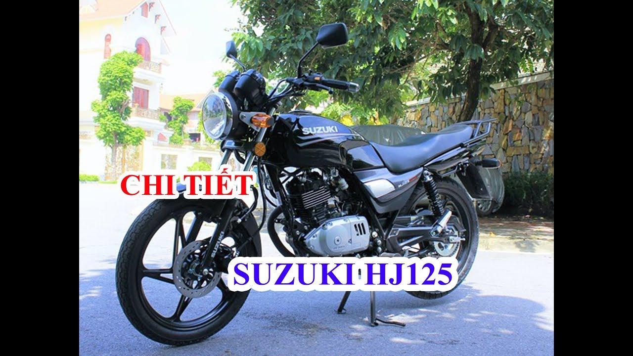 SUZUKI HJ125 2019 TỔNG QUAN CHI TIẾT || XE NHẬP KHẨU || THƯỞNG MOTOR