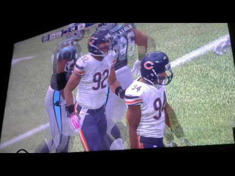 Armin narro wk 5 Bears vs Panthers 2nd 3rd 4th Qtr Video 2877