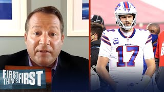 What's the ceiling for Josh Allen? — Eric Mangini | NFL | FIRST THINGS FIRST