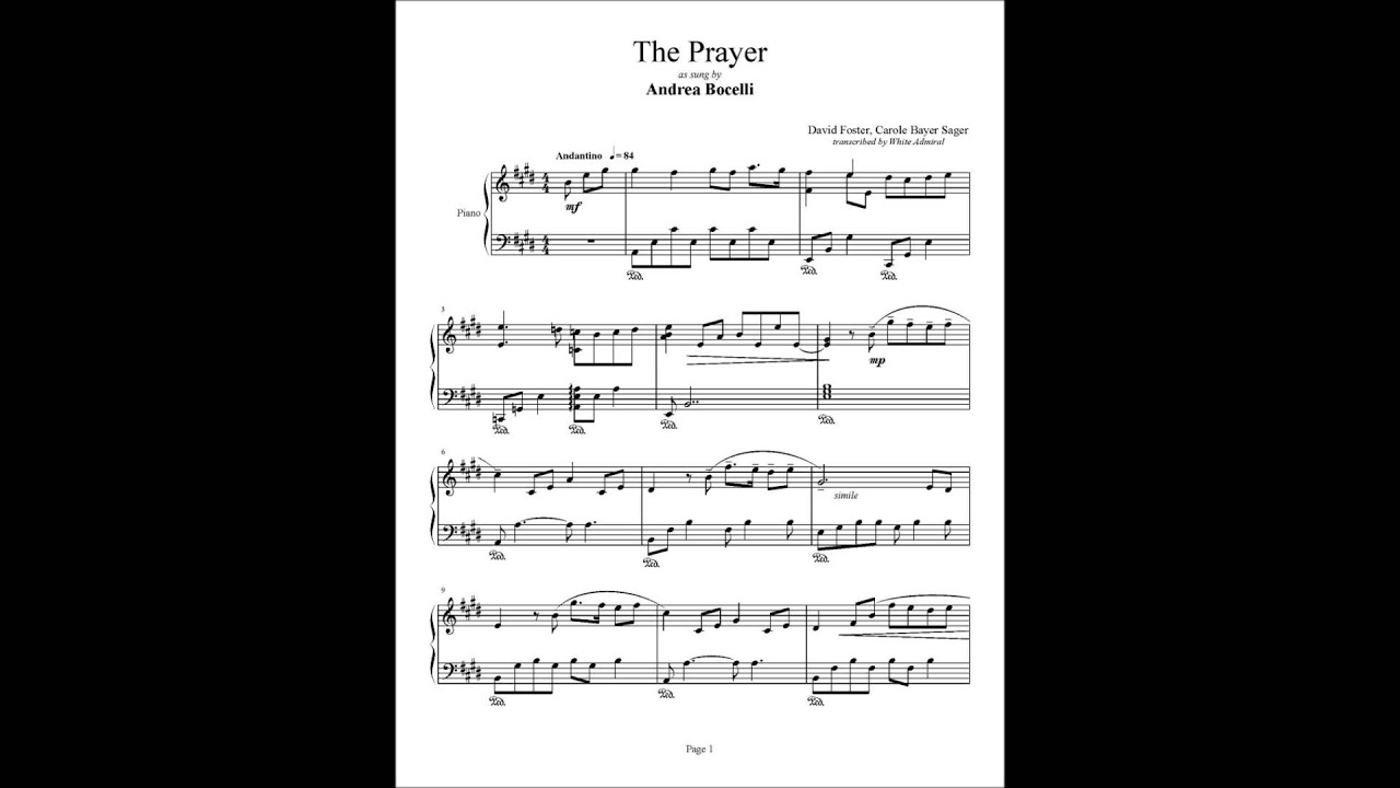 Quest For Camelot The Prayer David Foster Youtube