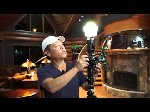 How To Shoot Flash With Beautiful Color Indoors With The Gary Fong Amberdome