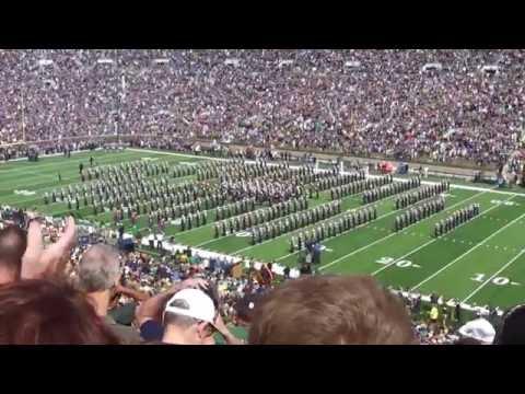 Notre Dame Pre-Game vs Nevada 2016
