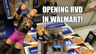 WWE ACTION INSIDER: Rob Van Dam Superstar Entrances Mattel Wrestling Figure Walmart Exclusive!