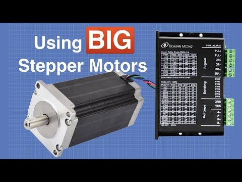 Using BIG Stepper Motors with Arduino   DroneBot Workshop