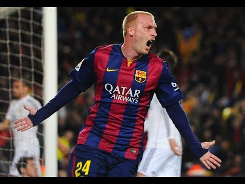 Jeremy Mathieu ● Thanks for Everything - ALL 4 GOALS in Barcelona