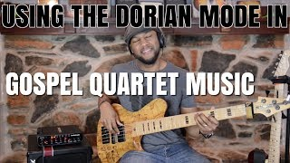 USING THE DORIAN IN GOSPEL QUARTET - JERMAINE MORGAN TV SERIES