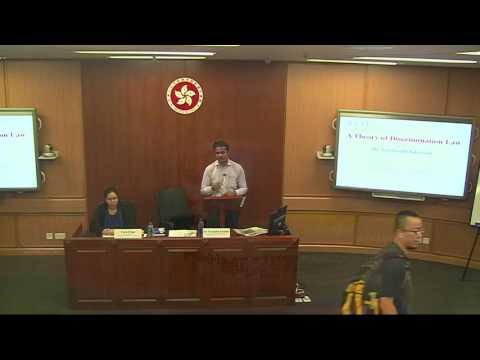 30/05/16 Tarunubh Khaitan: Dialogue on a Theory of Discrimination Law