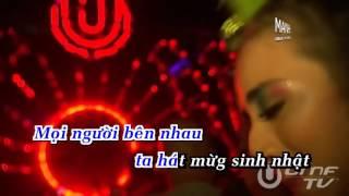 Khúc hát mừng sinh nhật remix (New Version) - Phan Đình Tùng Karaoke