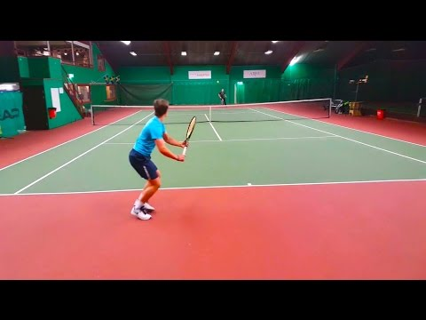 Daniel Shasteen - College Tennis Recruiting Video 2017