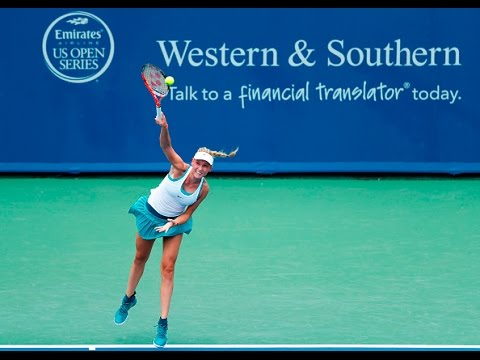 2016 Western & Southern Open Day 1 WTA Highlights