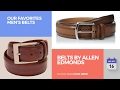 Belts By Allen Edmonds Our Favorites Men's Belts