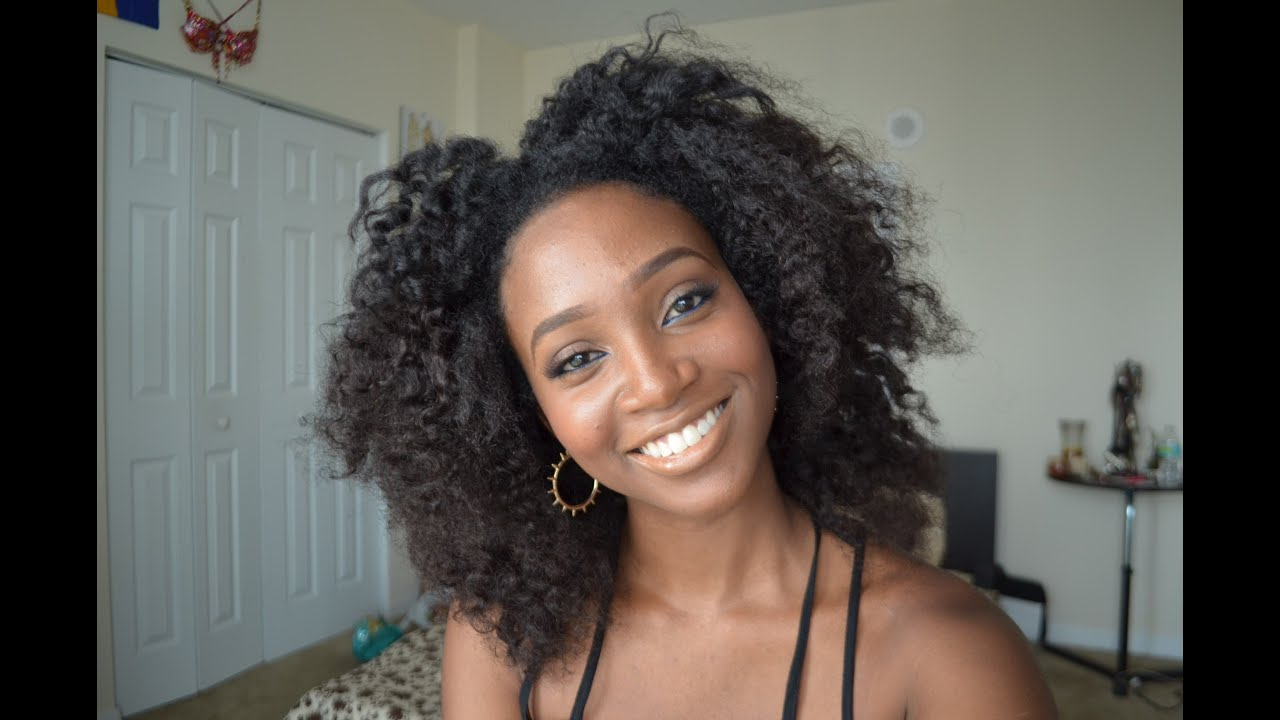 Elegant Curly Afro Weave Hairstyles Hairstyle Ideas