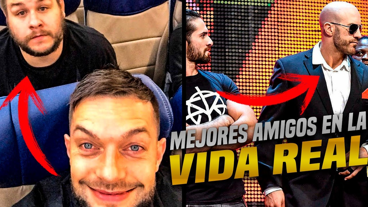 Mejores amigos de WWE en la VIDA REAL 2020