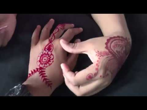 Henna Tangan Cantik Dan Simple Youtube