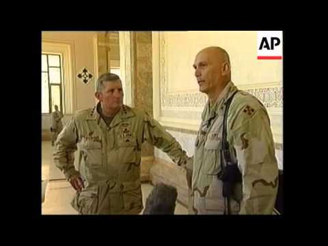 New army chief of staff meets US troops