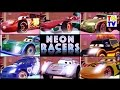Disney Pixar Cars Lightning McQueen NEON Racers | Cars Fast as Lightning