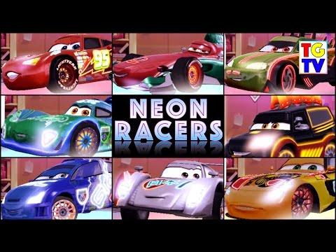 Disney pixar cars lightning mcqueen neon racers cars fast as disney pixar cars lightning mcqueen neon racers cars fast as lightning sciox Choice Image