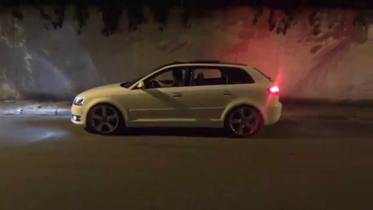 Audi A3 Sportback  Rodas Aro 19  Suspenso Fixa  YouTube