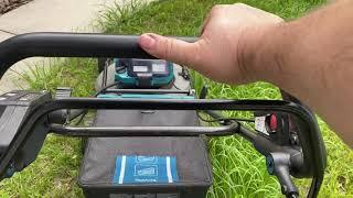 Will it mow 2 FOOT TALL grass? Makita 36V mower