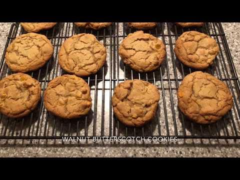 Walnut-Butterscotch Cookies