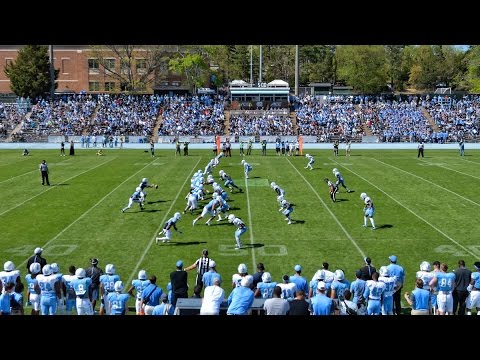 UNC Football: 2017 Spring Game Highlights