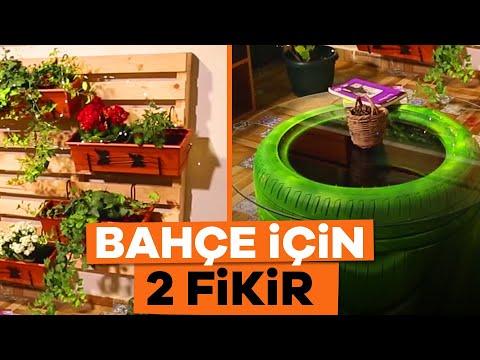 Bahçeleri ve Balkonları Güzelleştirecek 2 Fikir   Dekorasyon Fikirleri