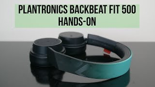 4f9bdff8613 Plantronics BackBeat Fit 3100 hands-on: a decent first try - Vloggest
