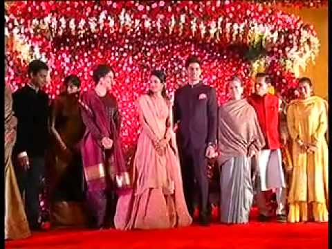 Sonia Gandhi and Priyanka gandhi T Subbarami Reddy grandson wedding