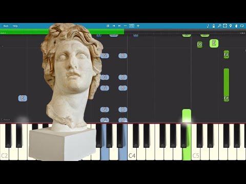 Macintosh Plus Piano Tutorial - How To Play MACINTOSH PLUS - リサフランク420 / 現代のコンピュー