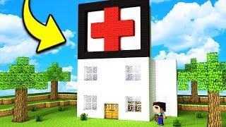 КАК ПОСТРОИТЬ СОВРЕМЕННУЮ БОЛЬНИЦУ В Майнкрафт - постройка и троллинг нуба Minecraft Мультик