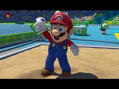 Mario & Sonic at the Rio 2016 Olympic Games - All Olympic Events (Wii U)